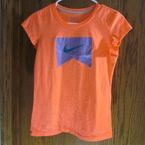 Orange Nike Short Sleeve